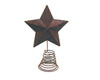 "12.5"" RUSTIC TIN STAR ON WIRE  Craft Outlet"