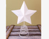"12.5"" OFFWHT TIN STAR ON WIRE  Craft Outlet"