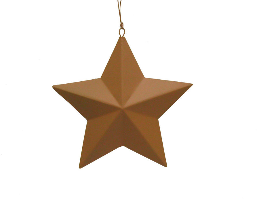 "=T0641   7"" TIN STAR, BLACK  Craft Outlet"