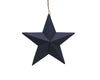 "Tin Star Ornament, 4.75""H"