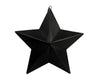 "Tin Star Ornament 7""H"