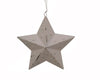 "PUNCHED STAR, 7"" OFF WHITE  Craft Outlet"