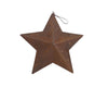 "PUNCHED STAR, 7"" RUSTIC  Craft Outlet"