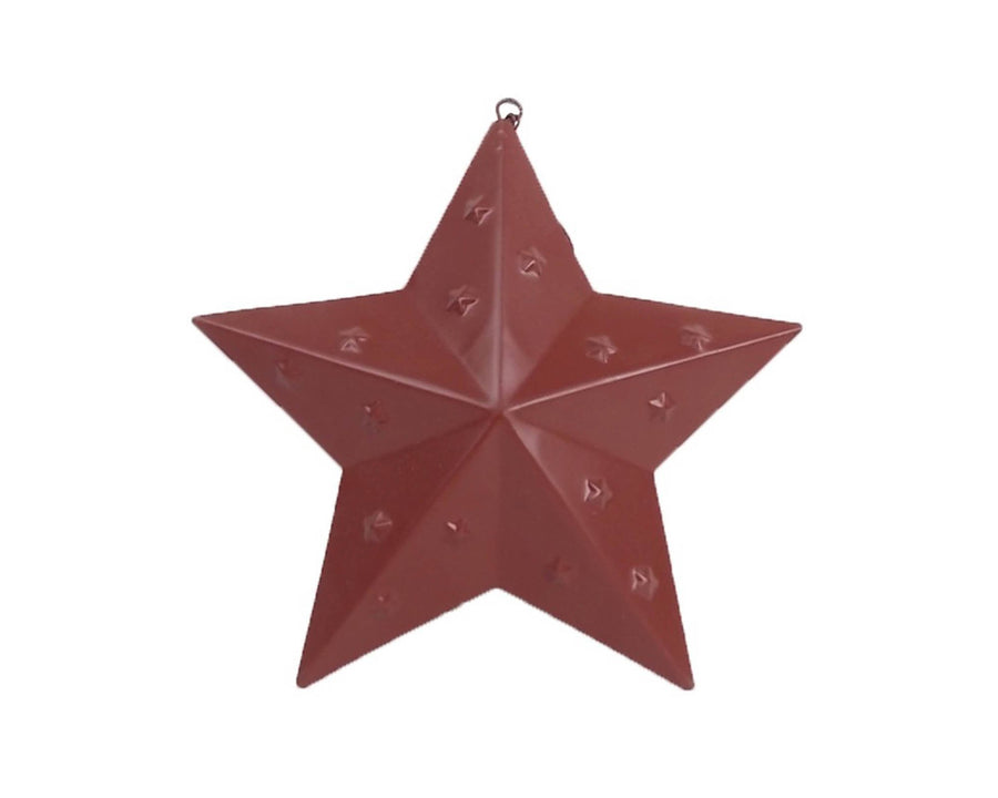 Punched Star  with Hanger 7""