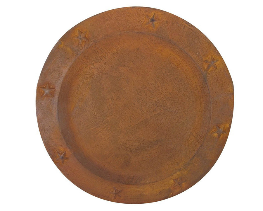 "ROUND PLATE, 12"" BLACK  Craft Outlet"