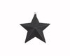 =T0451 4.75'' TIN STAR ORN. BLACK  Craft Outlet