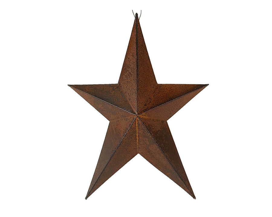 "8"" PRIMITIVE STAR, RED  Craft Outlet"