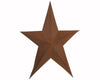 "D7S-RST 200-1443  24"" PRIMITIVE STAR, RUSTIC  Craft Outlet"