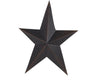 "12"" PRIMITIVE STAR, BLACK  Craft Outlet"
