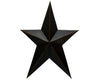 "D7S-BLK 200-1441  24"" PRIMITIVE STAR, BLACK  Craft Outlet"