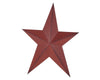"12"" PRIMITIVE STAR, RED  Craft Outlet"