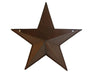 "Birch Maison Decorative Primitive / Farmhouse Tin Star with Pocket, Rustic - 12"" Tall"