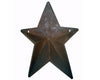 Tin Country Star with Pocket and Pre-Drilled Holes for Hanging, Rustic