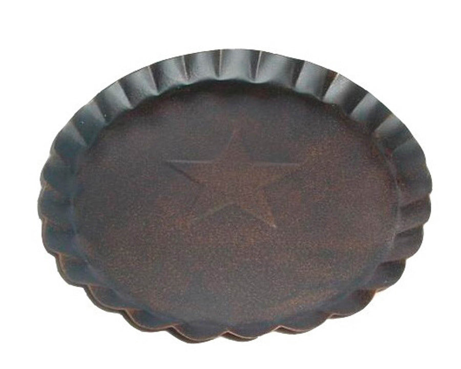 "7.5"" TIN PLATE, RUSTIC  Craft Outlet"