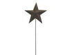 "Birch Maison Decorative Primitive / Farmhouse Tin Star Pick, Rustic - 14"" Tall"
