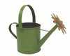 "9""H X 12""L GREEN WATERCAN W/SUNFLOWER  Craft Outlet"