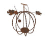 "235475 RUSTIC TIN PUMPKIN 6.5""X7.5""H  Craft Outlet"