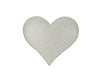 "TIN PUFF HEART OFF WHITE (SM) 3""  Craft Outlet"