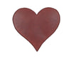 "RED TIN PUFF HEART (MED) 5.5""  Craft Outlet"