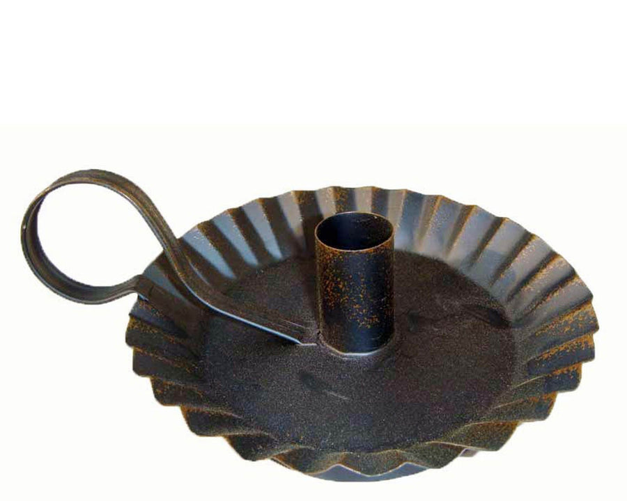 "CANDLE HOLDER/ RUSTIC 7.25""  Craft Outlet"