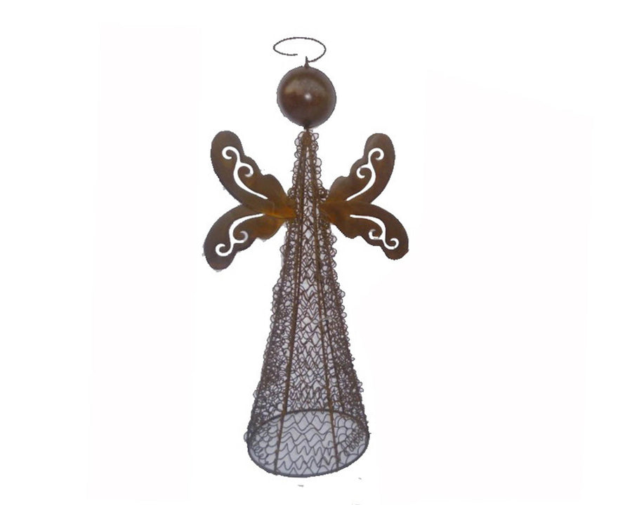"TIN WIRED MESH ANGEL 15""  Craft Outlet"