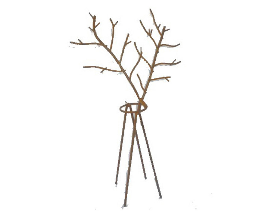 "TIN WIRED REINDEER 12""  Craft Outlet"