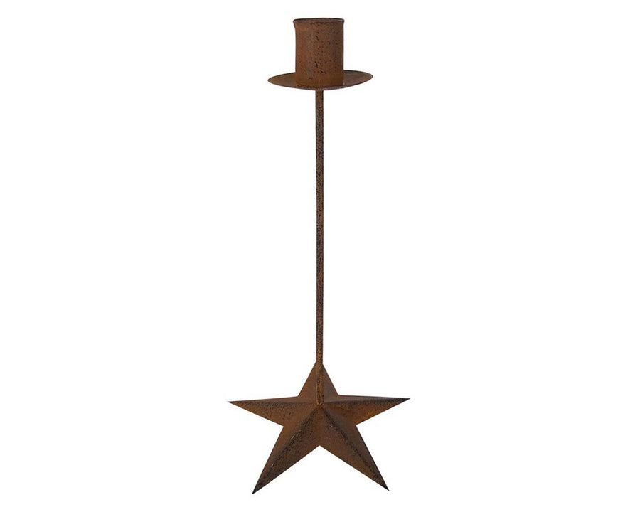 "10"" BLACK CANDLE STAND/STAR BASE  Craft Outlet"