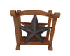 "RUSTIC STAR NAPKIN HOLDER 6.5""H  Craft Outlet"