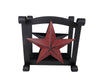 "Tin Napkin Holder with Star - 6.5"" Tall"
