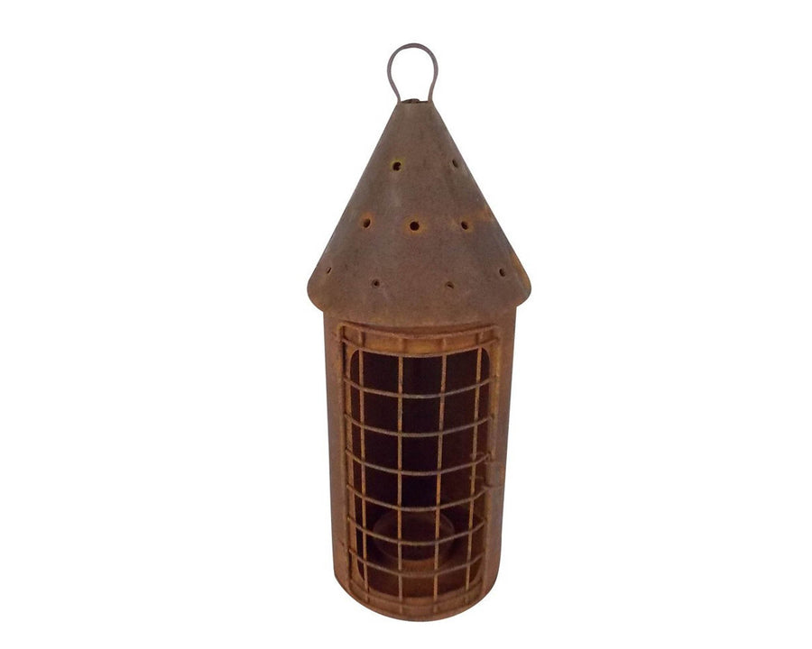 "BLACKTIN  BIRD HOUSE 11.5""H  Craft Outlet"