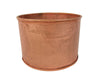 Medium Tin Candle Holder / Container, Copper
