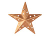 "TIN COPPER STAR W/CUTOUT 4""  Craft Outlet"