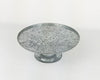 "8""DIM  GALV TIN CAKE HOLDER SMALL  Craft Outlet"