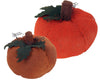 "235470 BURLAP PUMPKIN 6 DIA X 4""H  Craft Outlet"