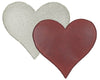 "RED TIN PUFF HEART (SM) 3""  Craft Outlet"