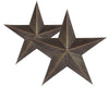 "24"" OFF-BLACK ANTIQUE STAR  Craft Outlet"