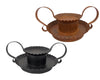 "BLACK CANDLE PAN 8x6x3.5""  Craft Outlet"