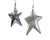 Tin Country Star with Hanger, Silver