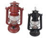 "TIN RUSTY  LANTERN W/LED LIGHT 9.75""  Craft Outlet"