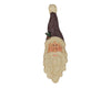 "Birch Maison Decorative Primitive / Farmhouse Rustic Paper Mache Santas Head - 22"" Tall"