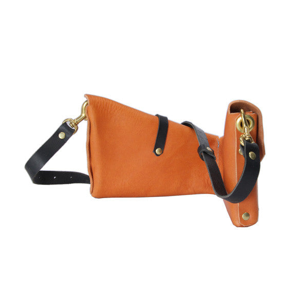 Flux Productions Leather Holster Bag