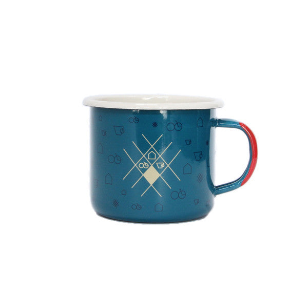 Campfire Enamel Mug- The Wheelhouse