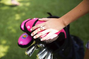 Cindy Golfball Ring