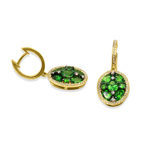 Bel-Air Greens Drop Earrings