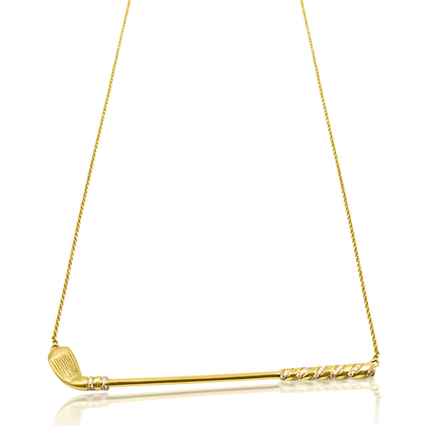Classic Golf Club Necklace