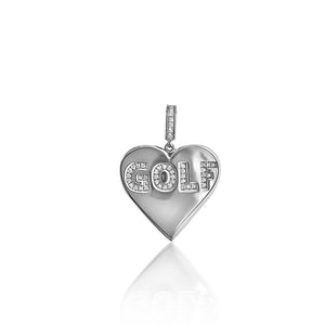 Heart Golf Pendant