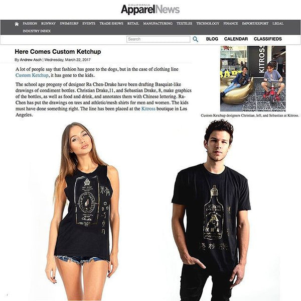 Thanks Apparel News Awesome!