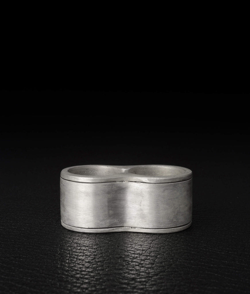 Parts of Four – Contour Ring Double (17mm)