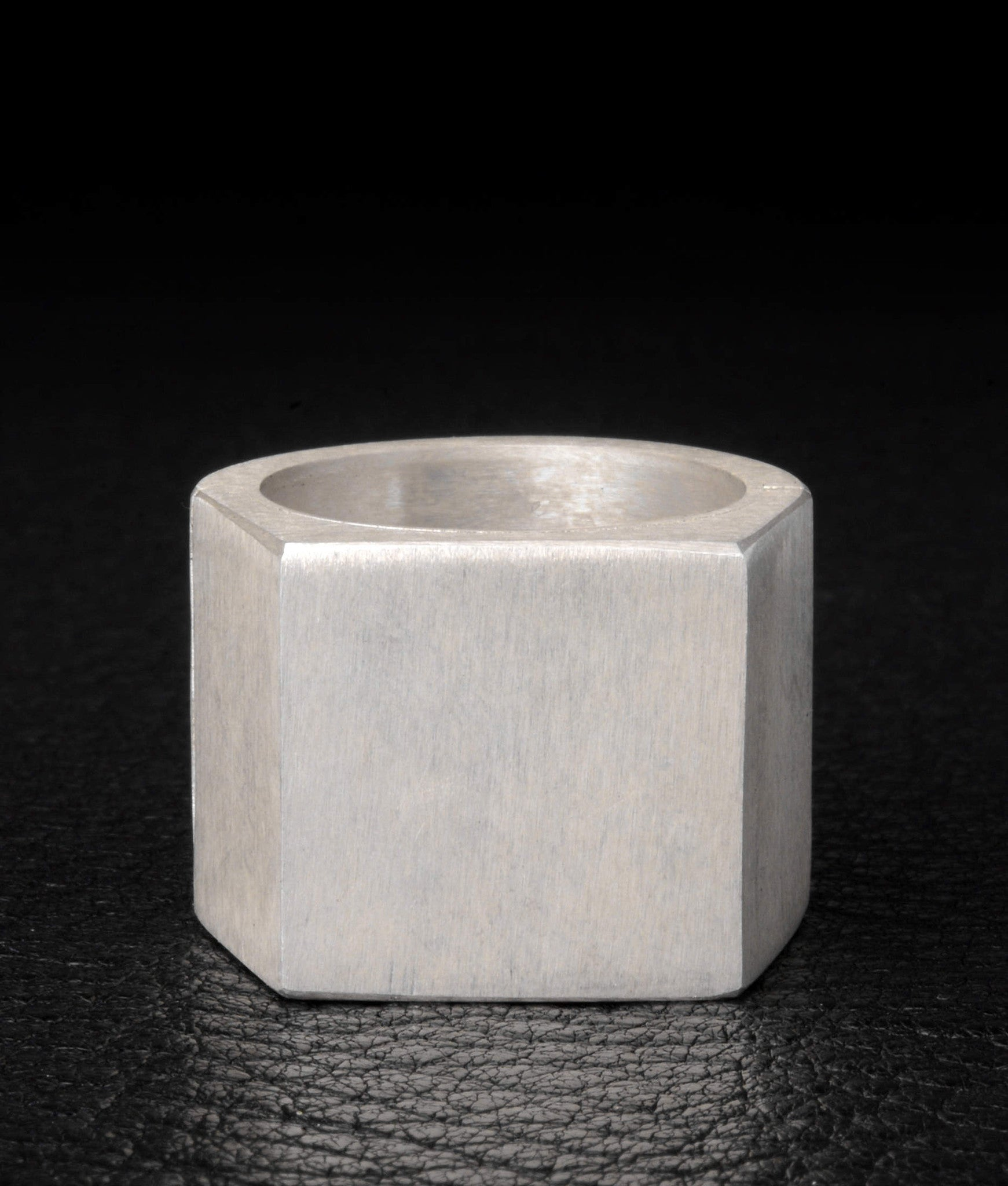 Sistema Ring (Facet, 17mm) – Arguros (Modern Silver Jewelry)