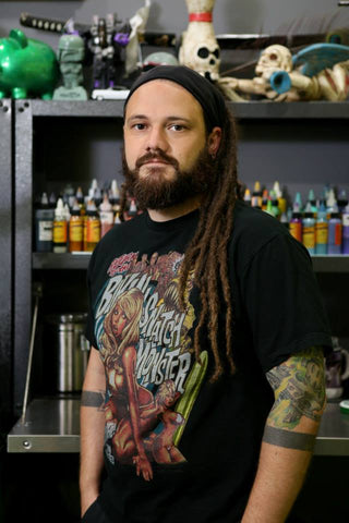 Local Artist of the Month JR Linton, owner of Ink and Pistons Tattoo Shop